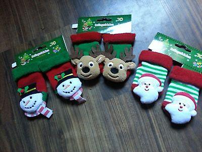Rasselsöckchen Baby Rassel Strümpfe Socken Babies Weihnachten Geschenk