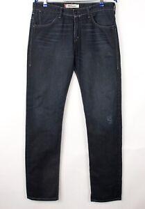 Levi's Strauss & Co Hommes 504 Droit Jambe Slim Jean Taille W34 L34 BDZ707