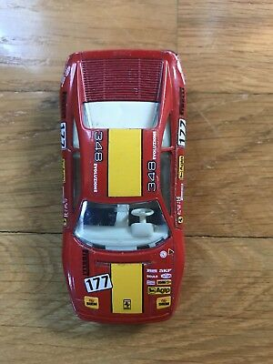 2019 Fashion Burago Auto Car Ferrari Agip 348 Tb Macchinina Big Clearance Sale Other Diecast Racing Cars Toys & Hobbies