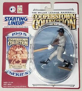 STARTING LINEUP COOPERSTOWN COLLECTION ROD CAREW MINNESOTA TWINS COLLECTOR CARD