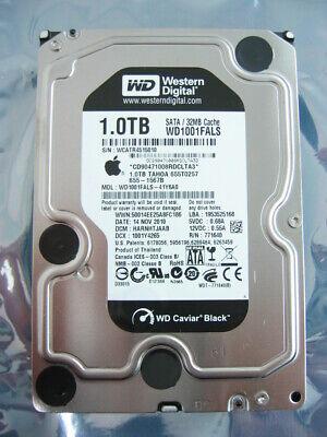 black Apple 1TB 7200rpm SATA Hard Drive for iMac//Mac Pro WD1001FALS, 655-1567d