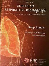 Sleep Apnoea (European Respiratory Monograph) , 2010 by W.T. McNicholas