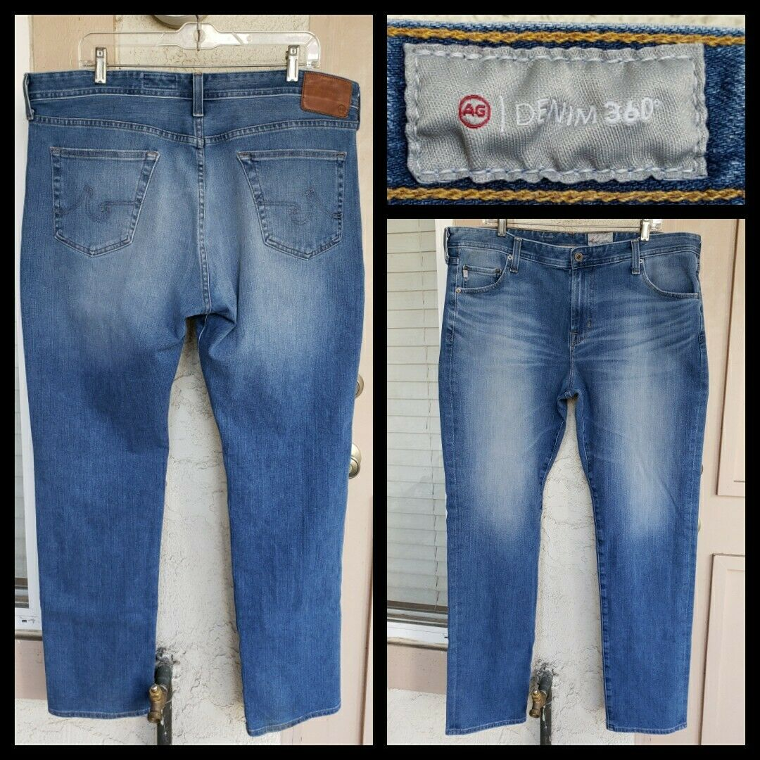 40 men AG The Everett SLIM STRAIGHT bluee jean 40x34 -  40x33 1 2