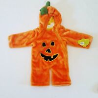 Petables Pumpkin Baby Costume Size 1-2 Years Bunting Infant Halloween Costume