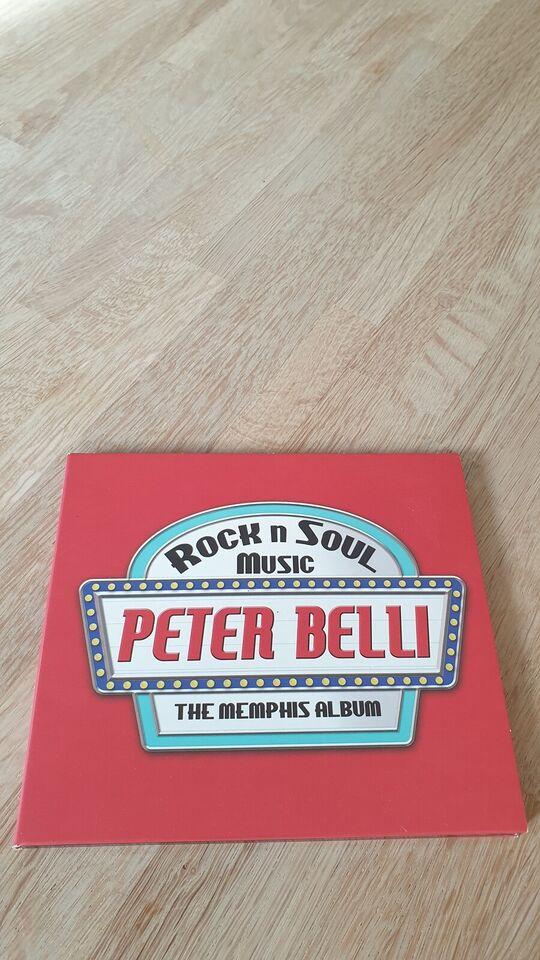 Peter Belli: Rock N Soul Music: The Memphis Album (med