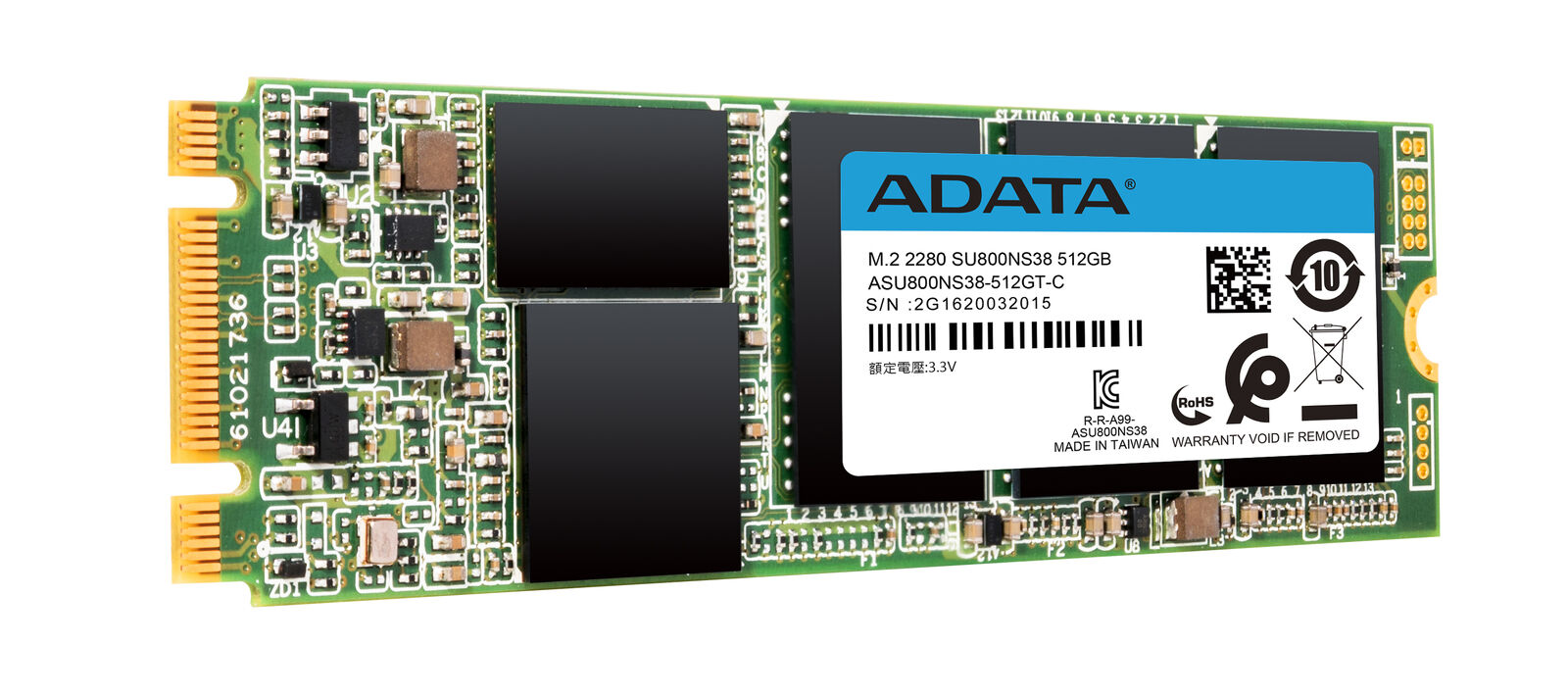 ADATA Ultimate Series: SU800 512GB SATA M.2 2280 Solid State Drive. Buy it now for 53.99