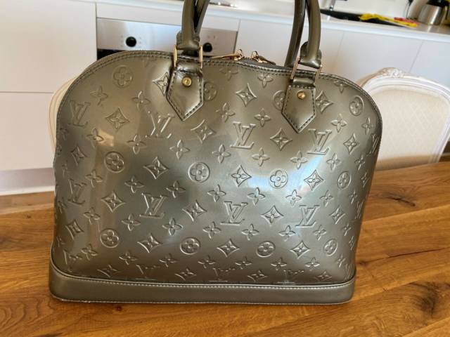 Skuldertaske, Louis Vuitton, lak, Louis Vuitton Alma…