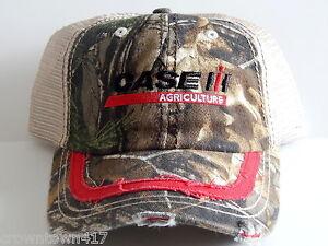 Case IH Realtree Cloth//Mesh Men/'s Cap