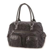 Dakine FAYE Black Flocked Overnight Bag Travel Purse (D) Women's Tote