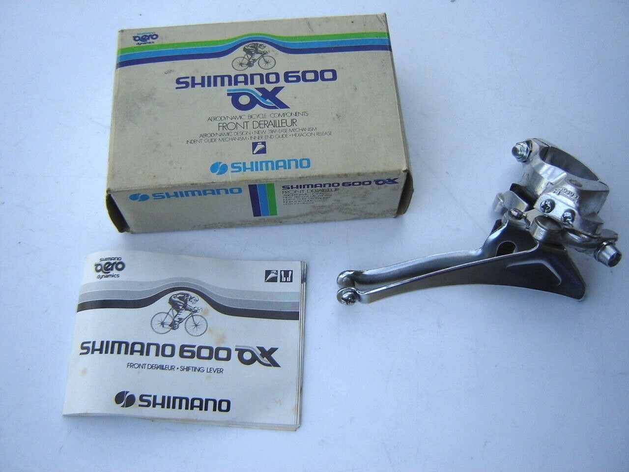 SHIMANO 600 AX FD-6300 CLAMP-ON FRONT DERAILLNOS - NIB