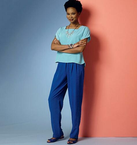 Butterick Easy SEWING PATTERN B6221 Misses Top,Dress,Shorts,Pants
