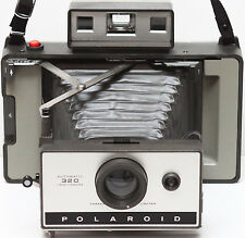 Polaroid 320 Instant Film Folding Land Camera Converted AAA Battery Made in USA
