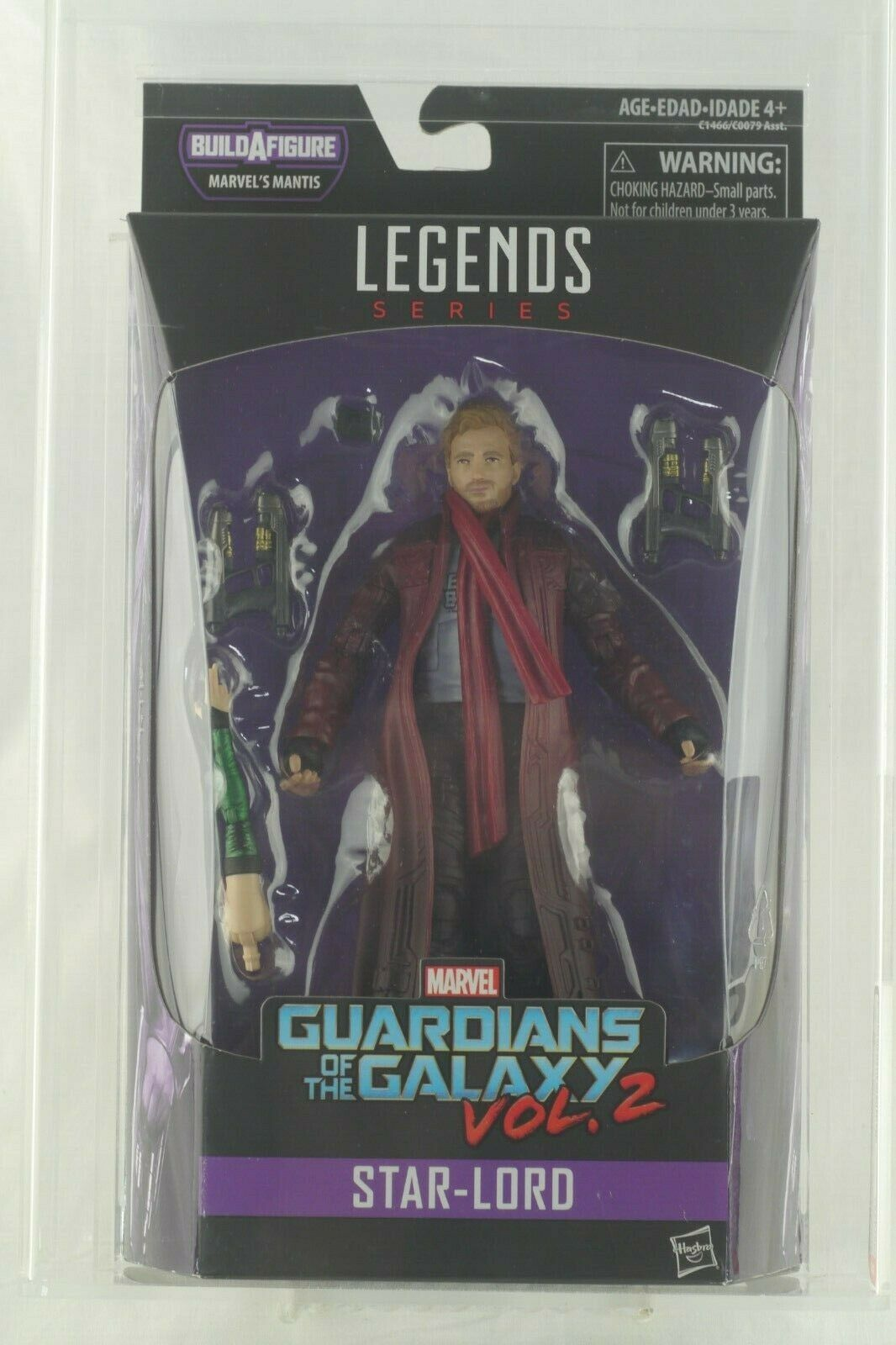 Marvel Legends Guardians of the Galaxy Vol. 2 Star-Lord Action Figure AFA 8.5