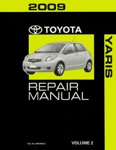 image is loading 2009-toyota-yaris-shop-service-repair-manual-volume-