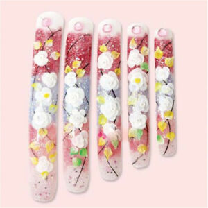 Details About Short Coffin Shape Nails Natural Clear Nail Tips Full Cover Acrylic Nail Tips L