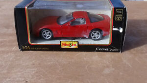 Maisto-Special-Edition-1-24-Die-Cast-Metal-1997-Corvette