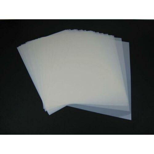 Mylar Material für Airbrush Schablonen 20 Stück DIN A4 Folie Mylarf 10,69€//1qm