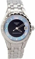 Tissot Couturier Automatic Black Dial StainlessSteel Ladies Watch T0722071112800