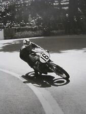 Poster Bultaco 125 1962 #16 John Grace (GIB) Tourist Trophy Isle of Man