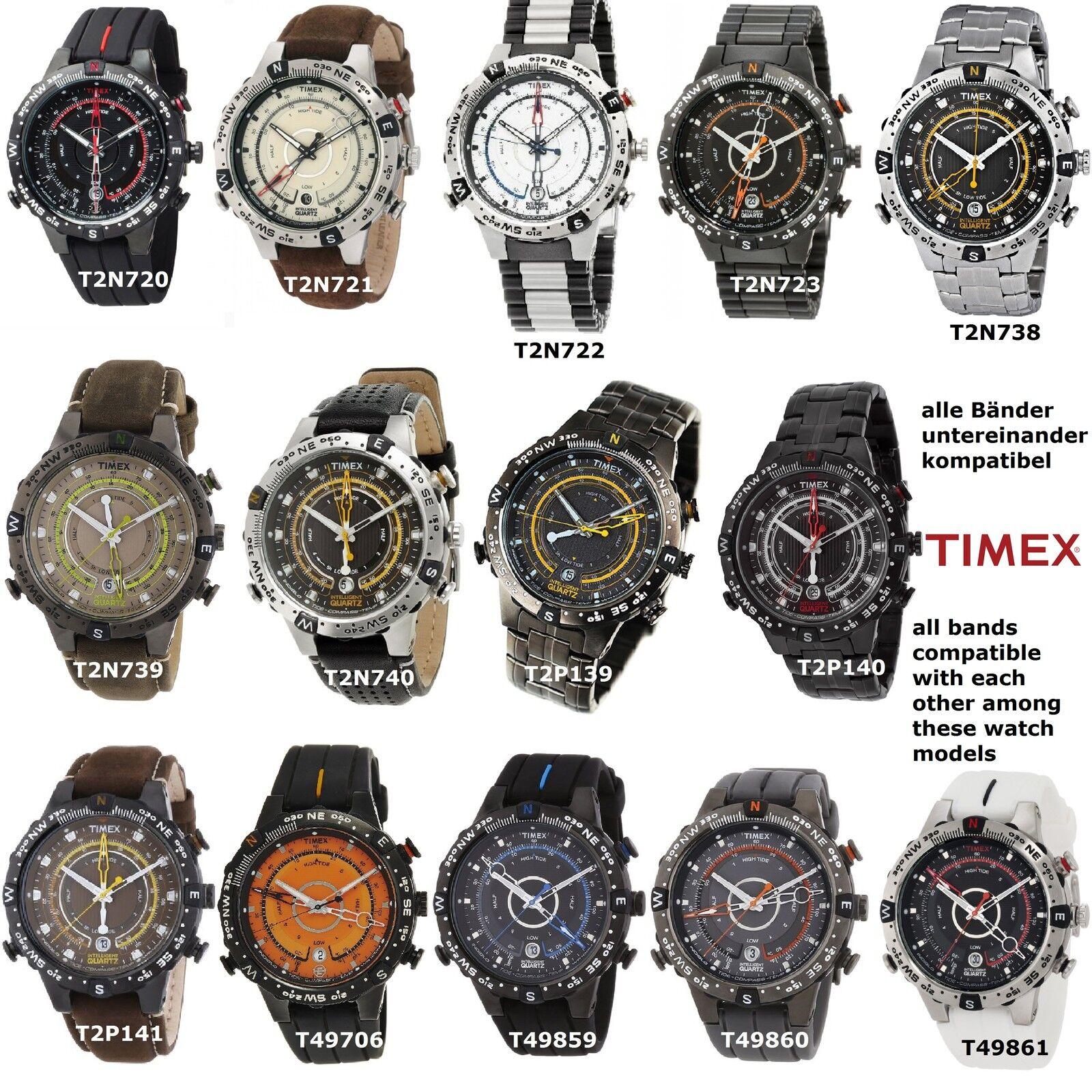 Timex Bracelet de Rechange T2N720 S/'Adapter T2N723 T49861 T2P140 T2N740 T45581