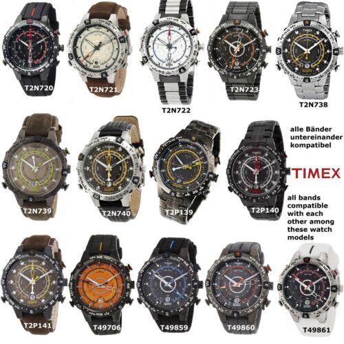 Timex Ersatzarmband TW2T76500 Allied Tide Temp Compass passt T2P139 T2N739 etc