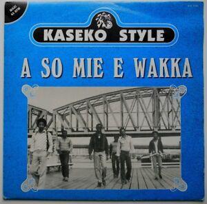 """12"""" NL**KASEKO STYLE - A SO MIE E WAKKA (MYRZA RECORDS '85)**29647"""