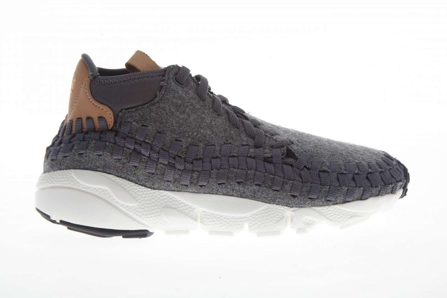 Nike Air Footscape Woven Chukka SE Hommes 857874-002 Dark Gris Tan Chaussures