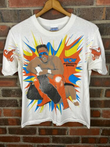 Vintage Sting Wrestling T Shirt Mens Small WCW WWF