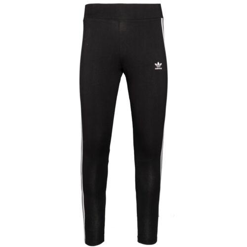 Adidas 3 Stripes Tight Women Leggings Originals Damen Sport Training Hose FM3287