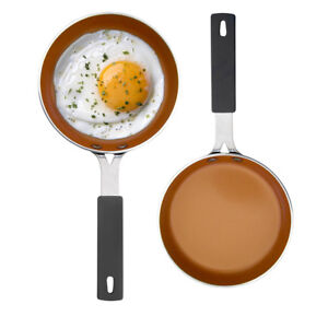 Gotham Steel 5 5 Mini Egg Pan With Nonstick Titanium