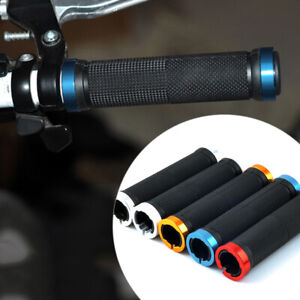 New-Metal-MTB-BMX-Bike-Bicycle-Double-Lock-On-Locking-Cycling-Handle-Bar-Grips