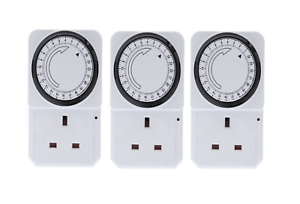 3-x-24-HOUR-24HR-MAINS-PLUG-IN-TIMER-SWITCH-TIME-CLOCK-SOCKET-UK-3-PIN-LIGHTS