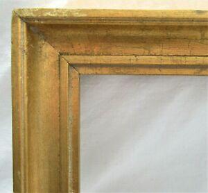 VINTAGE-FITS-9-034-X-12-034-GOLD-GILT-WOODED-PICTURE-FRAME-FINE-ART