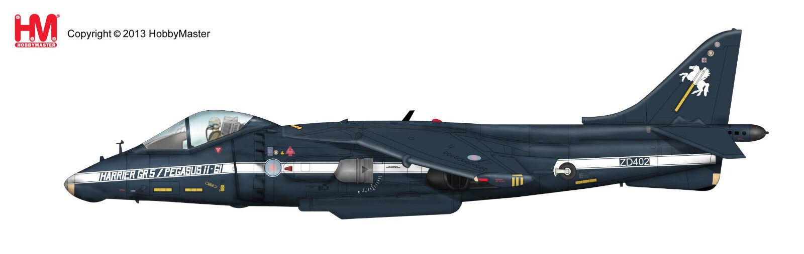 Hobby Master 1 72 HA2617 HARRIER GR5  ZD402' Pegasus 11-61 Flight Test En parfait état, dans sa boîte
