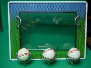 "Baseball Picture Frame 4""X 6"" Stand up, Baseball Themed Metal Frame"