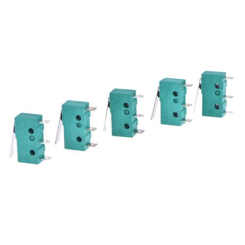5pcs micro limit switch long lever arm subminiature kw4-3z-3 snap action   X