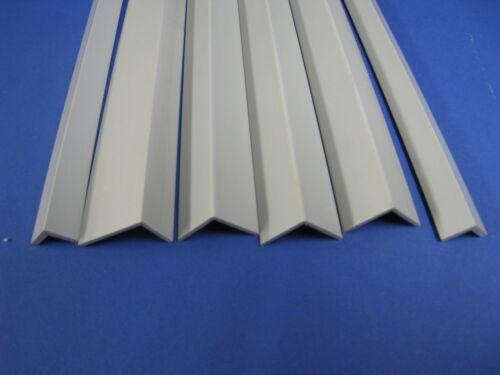 PVC-Winkel Plastik-Profil-Winkel Polyvinylchlorid PVC-Winkel 15 x 15 x 3