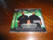 Chicano Rap CD Lil Blacky & Lil Sicko - Grindin - Dominator SELO Doll-E Girl
