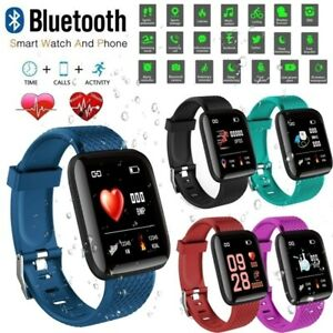 Smart-Watch-116-PLUS-Smart-Bracelet-D13-Heart-Rate-Blood-Pressure-Waterproof