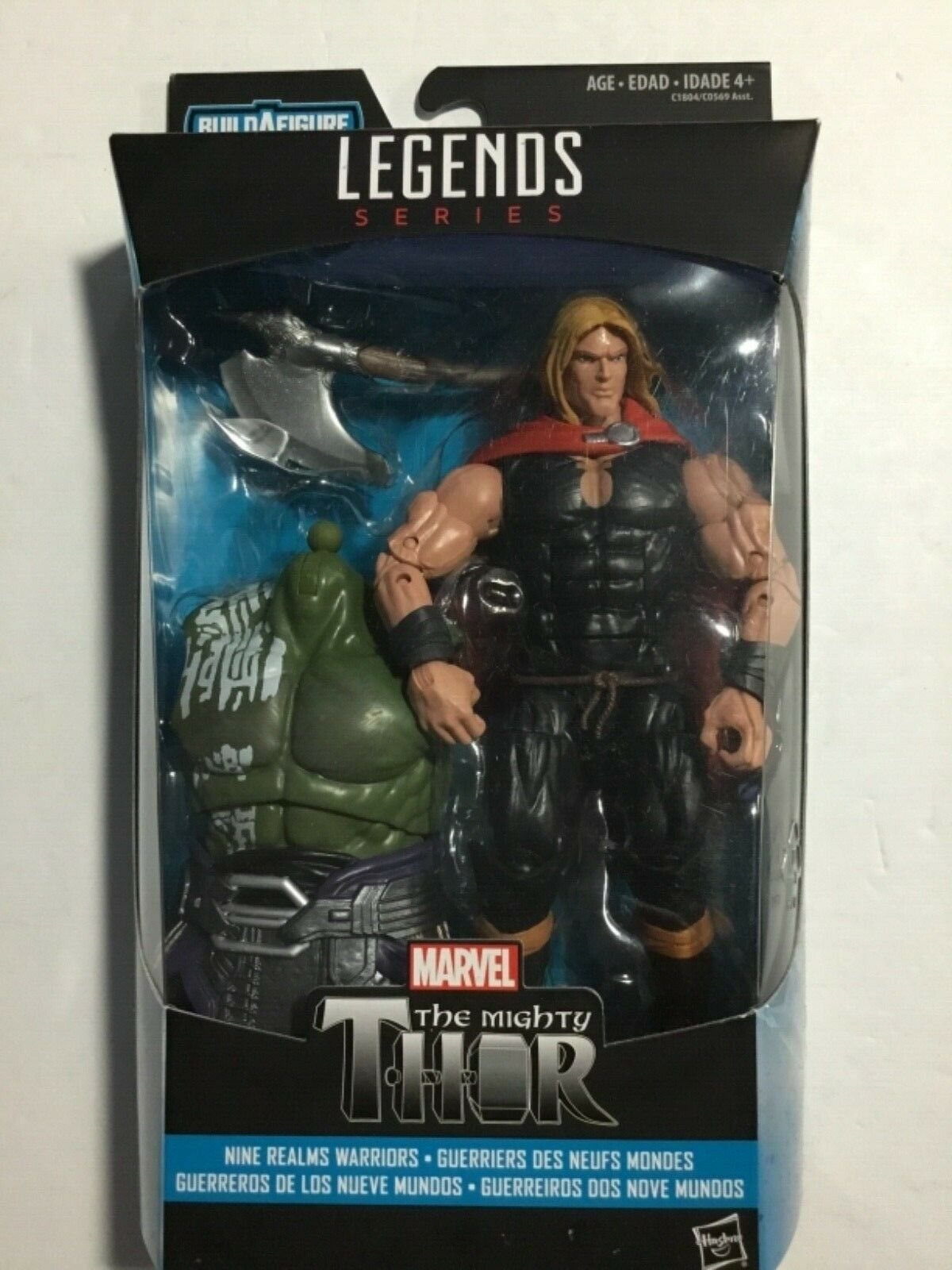 Marvel Legends The Mighty Thor BAF nuovo MISP