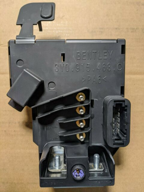 [DIAGRAM_5NL]  Bentley CONTINENTAL GT GTC & Flying Spur Battery Pyro Fuse for sale online    eBay   Bentley Gtc Fuse Box      eBay