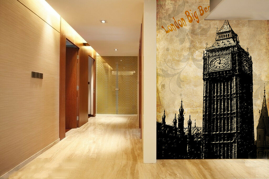 3D House Sketch 521 Wallpaper Murals Wall Print Wallpaper Mural AJ WALL AU Kyra