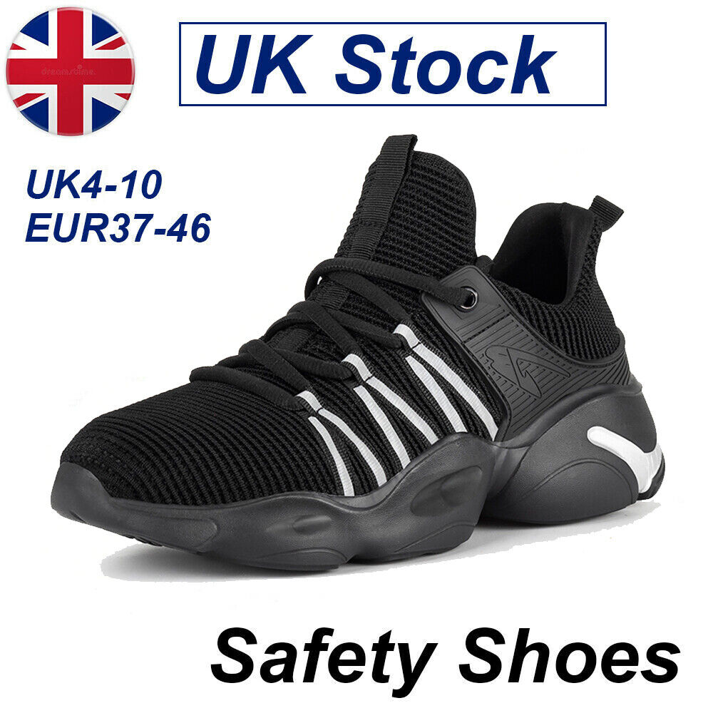 Lightweight Mens Safety Trainers Women Steel Toe Cap Work Hiking Boots Shoes