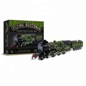 Train-a-vapeur-Scotsman-kit-de-construction-en-metal-style-mecano-340-pieces