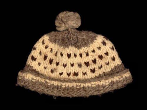 Vintage Hat Hand Knit Icelandic Beanie 1970S Prove