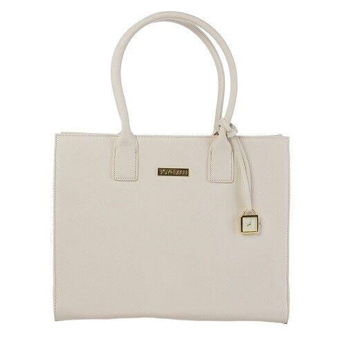 Joy Mangano /& Iman Genuine Leather Hollywood Glamour Cognac Handbag SEALED RARE!