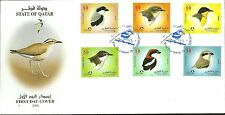Qatar = 2009 Birds 3 FDC set MS &  Booklet  Birds - Free Air Mail