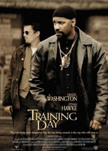 Training Day Movie Poster Large 24inx36in