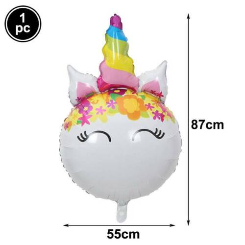 Mermaid Party Baby Shower Happy Birthday Shell Foil Balloon Party Decoration Kid