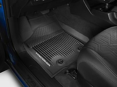 OEM PT908-36164-20 All Weather Floor Mats For 2016-2017 Toyota Tacoma Double Cab